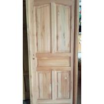 Puerta Entrada Exterior Saligna Grandis Secado A Horno 0,80