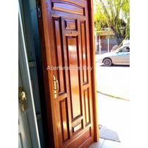 Puerta De Madera Cedro Lambertiano Hasta Agotar Stock!