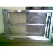 Ventiluz - Aireador De Aluminio Con Vidrios Reja Mosquitero