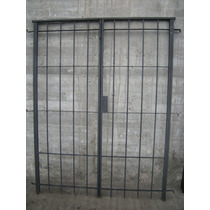 Reja Para Puerta Balcón 2,00x2,00 Mts