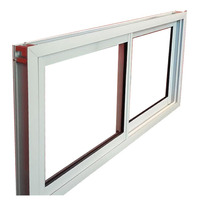 Ventana Abertura Aluminio Vidrio 3mm Blanco Fabrica 150x60