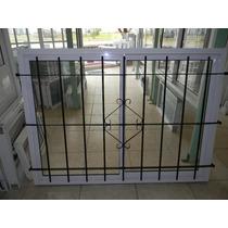Ventana De Aluminio 150x110 C/vidrio C/reja $1900 (fabrica)