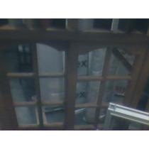 Ventana 1.20x1.10 Madera En Vidrio Repartido Cedro Nacional