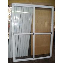 Puerta Ventana Balcon 150x200 Aluminio V. Entero Fabricantes