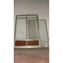 Abertura De Aluminio Anonizado Puertas Corredizas Y Vidriera