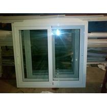 Ventana Aluminio Blanco Rotonda 640 150x110 Con Vidrio 4mm