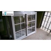 Ventana Vidrio Repartido 120x110