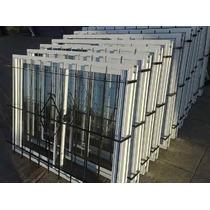 Aberturas Ventana Aluminio Vidrio Entero 180x110 Reja Vidrio