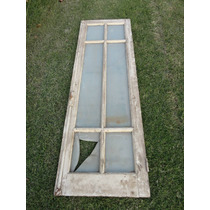 Ventana De Cedro Con Vidrio Repartido