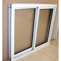 Abertura Ventana Aluminio Blanco Corrediza 1.20x1.10