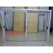 Ventana Aluminio Blanco 150x110 Directo De Fabrica