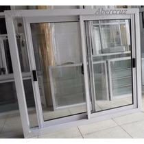 Puerta Ventana Aluminio Balcon 120x110 Vidrio Entero Va-011