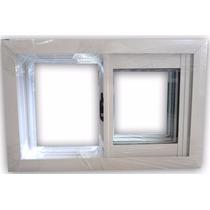 Ventana Aluminio Blanco Vidrio Entero 60x40 Envios Zona Va09