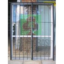 Aberturas: Puerta Reja 2 Hojas De Abrir De 1,50 X 2,00 H. 12