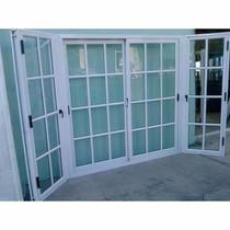 Ventana Puerta Balcon Alum. Blanco Vid. Repart 2.00 X 2.00