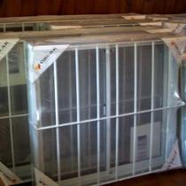 Ventana Oblak Varesenova 100x110 Cm Aluminio Blanco Completa