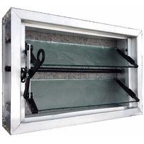 Ventiluz Ventana De Aluminio 40x26 Completo Aberturas Leo