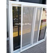 Ventana Aluminio 150x150 Vidrio Mosquitero Reja Y Persiana