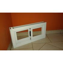 Ventana De Aluminio 0.60x0.30 Blanca.ideal Para Baño