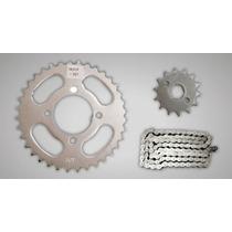 Kit De Transmision Gilera/motomel/honda/zanella 110cc