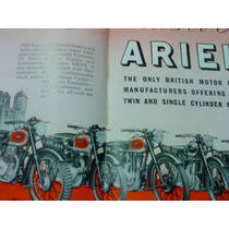 Rara Revista: British Cycles And Motor Cycles Overseas -1950