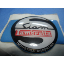 Siambretta Standart Insignia Frontal Adhesiva