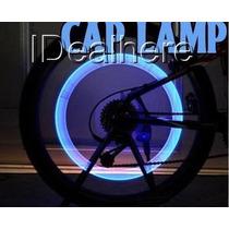 Luz Para Ruedas De Bicicletas / Motos Y Autos