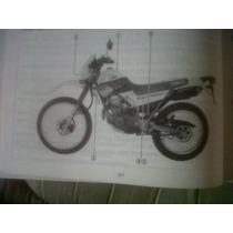 Yamaha Xt 225 Serow 1991manual Del Usuario Original !!!!!!!