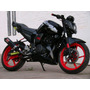 Quilla Yamaha Fz16 Color Negro Original Diseño Exclusivo