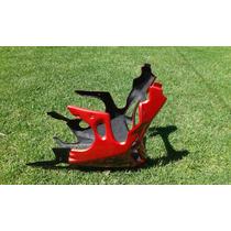 Quilla Sport Bajaj Rouser 180/220 - Exclusivo Roja/negra