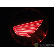 Insignia Luminosa Moto Honda - Logo Con Luces Led - Tuning