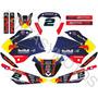 Calcos Honda Xr 125 - Honda Bross Kit Completo