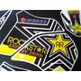 Calcos Suzuki Dr650 Kit Completo Competicion Rockstar