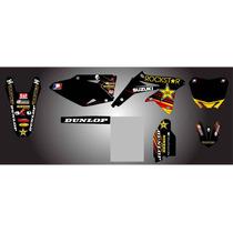 Kit De Calcos Gráficas , Para Suzuki Rm.....