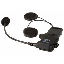 Kit De Parlantes Y Microfono Intercomunicador Sena Smh10
