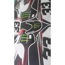 Calcos Kawasaki Klx 650- 250 Competicion
