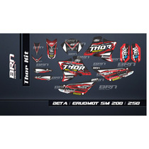 Kit De Calcos Beta Motard 250