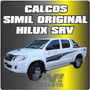 Calcos Toyota Hilux Srv Laterales 09