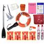Combo Seguridad Embarcaciones Con Cabina + Ponchos + Ancla