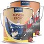 Masilla Epoxi Nautica Revesta 4010 - 2 Comp. Barcos - 1/2 Lt