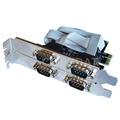 Placa Pci-e Con 4 Puertos Serie Rs-232 Chip Moschip El Mejor
