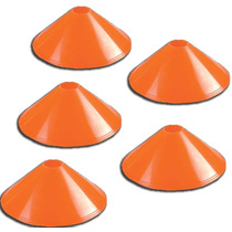 5 Conos Tortuga Naranja Fluo Deportes Personal 7 Cm Cap Fed
