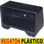 Regaton Plasico Para Caño 100 X 50 Mm Color Negro