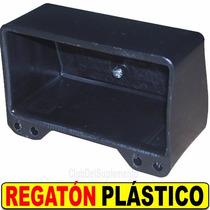 Regaton Plasico P Caño 100x50mm Negro P Maquinas De Gimnasia