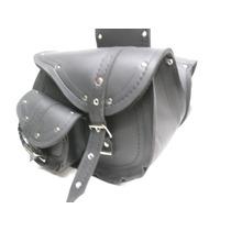 Alforja Custom Cuero Ecológico Ridercraft Pocket-slant # 048