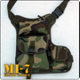 Bolso Muslero Para Moto, Paintall, Airsoft, Aire Libre, Etc.