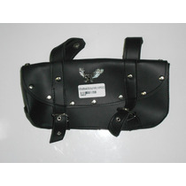 Porta Herramientas Custom Chopper Eco Cuero Negro