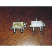 Lote Derivadores Splitter 1 A 2 5-900 Mhz Para Catv, Cctv