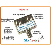 Tap Holland Dcwg-6sb Usa Spliter Tv Catv Divisor Skyfreetv