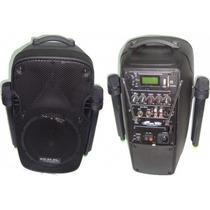 Bafle Karaoke Potenciado C/bateria Gbr 890,12 Sin Interes